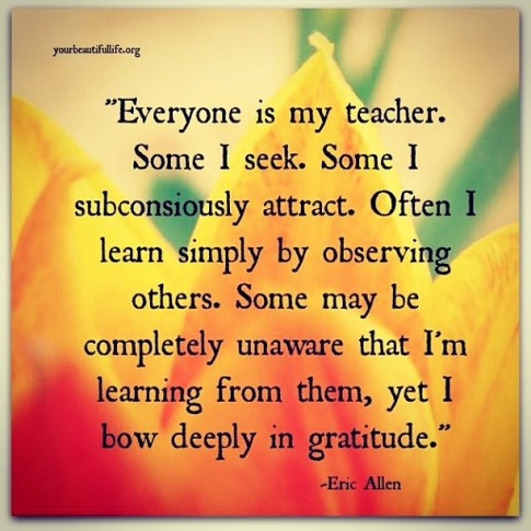 Image result for everyone is my teacher