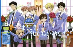Anime: Ouran Highschool club