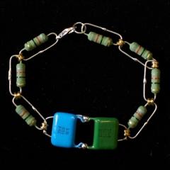 green_blue_resistor_bracelet