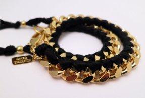 Holbrooke-Noir-Gold-Double-Wrap-Bracelet